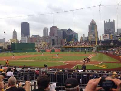 PNC Park, section: 119, row: D, seat: 12