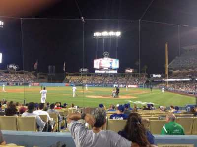 Dodger Stadium section Field 5 VIP