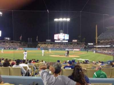 Dodger Stadium section Field 5 VIP