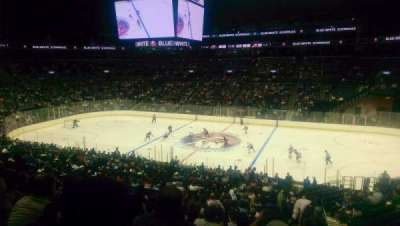 Barclays Center, section: 106, row: 9, seat: 1
