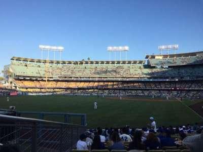 Dodger Stadium section 53FD
