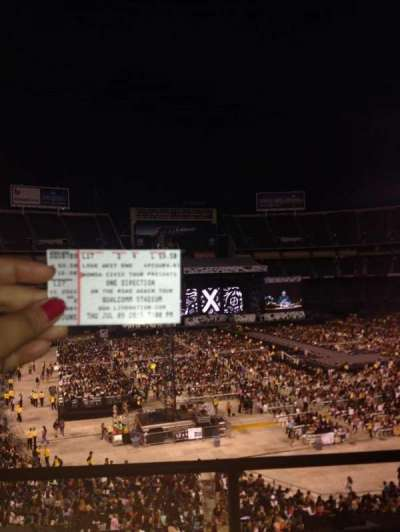 SDCCU Stadium, section: LV17, row: 2, seat: 6