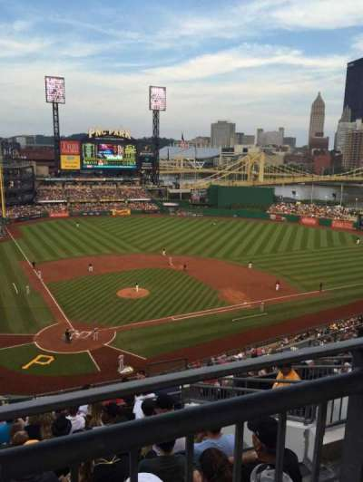PNC Park, section: 313, row: D, seat: 6