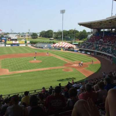 McCoy Stadium, section: 11, row: 3 , seat: 14
