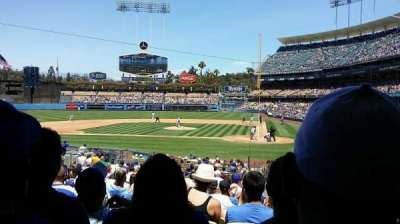 Dodger Stadium, section: 9fd, row: U, seat: 8