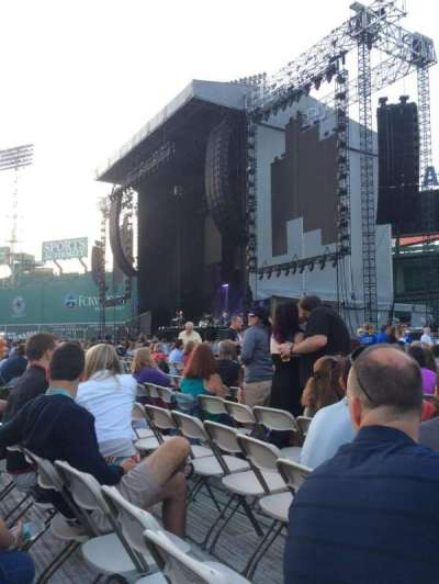 Fenway Park section A1 - turf concert seating