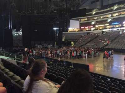 American Airlines center, section: 118, row: J, seat: 1