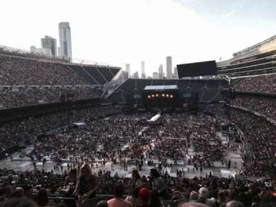 Soldier Field, section: 320, row: 14, seat: 3