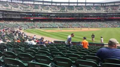 Comerica Park section 113