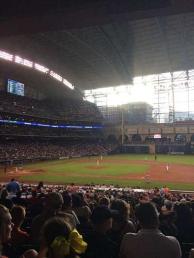 Minute Maid Park section 126