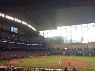 Minute Maid Park section 125