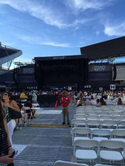 Soldier Field, section: M, row: 19, seat: 1