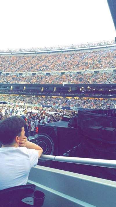 Soldier Field, section: 101, row: 7, seat: 12
