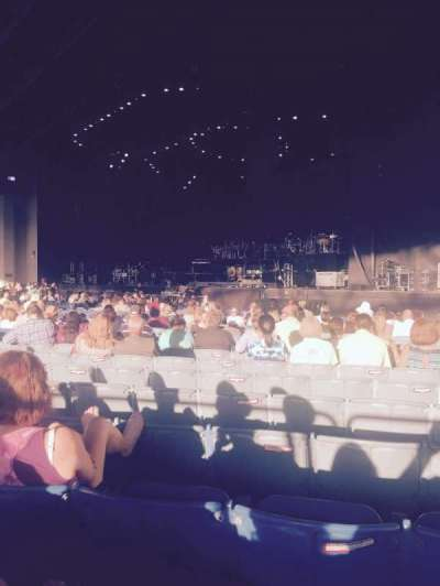Gexa Energy Pavilion, section: 100, row: Z, seat: 14