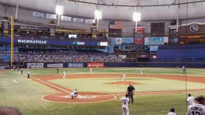 Tropicana Field, section: 106, row: U, seat: 3