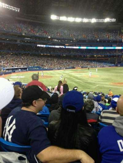 Rogers Centre, section: 116R, row: 26, seat: 2