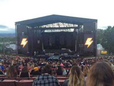 Irvine Meadows Amphitheatre, section: Loge 6, row: GG, seat: 606