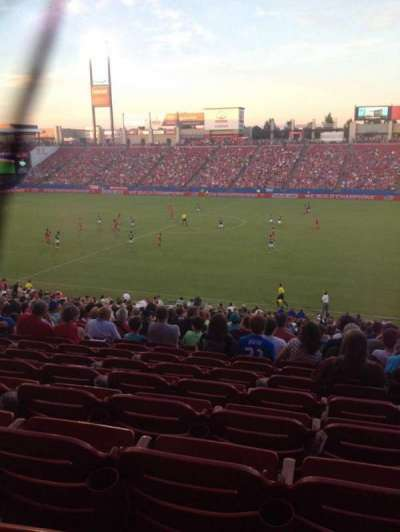 Toyota Stadium, section: 108, row: 30, seat: 18