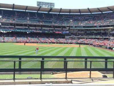Angel Stadium, section: P259, row: G, seat: 6