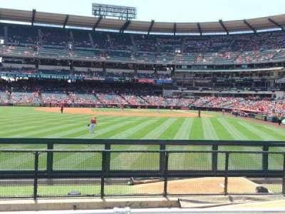 Angel Stadium, section: P259, row: G, seat: 6