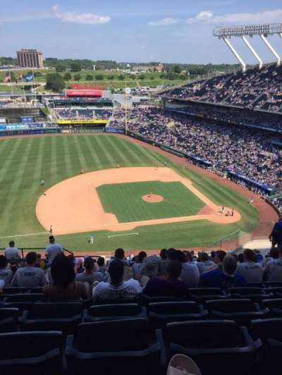 Kauffman Stadium section 411