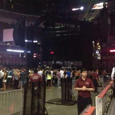 Honda Center, section: 223, row: 1, seat: 6