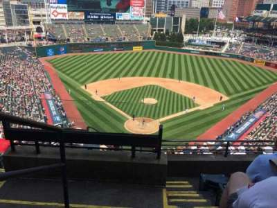 Progressive Field section 553