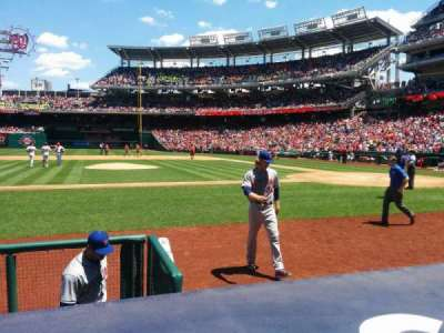 Nationals Park, section: 117, row: D, seat: 15