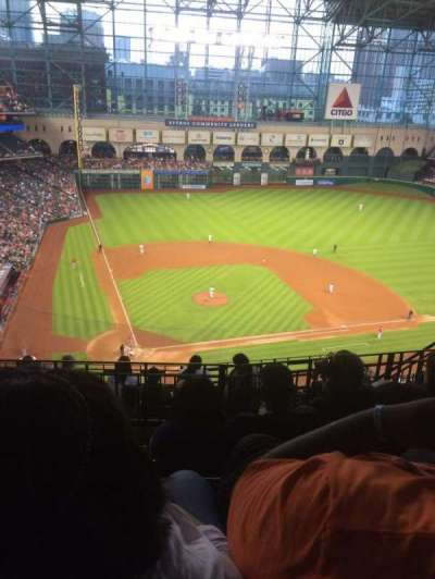 Minute Maid Park, section: 422, row: 4, seat: 11