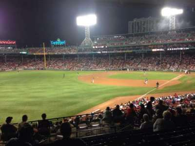 Fenway Park, section: Grandstand 32, row: 10, seat: 19