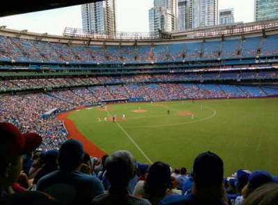 Rogers Centre, section: 210, row: 11, seat: 1