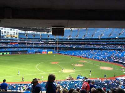 Rogers Centre, section: 232, row: 13