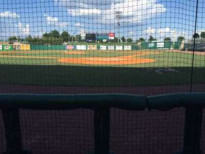 Arvest Ballpark, section: 112, row: B, seat: 6