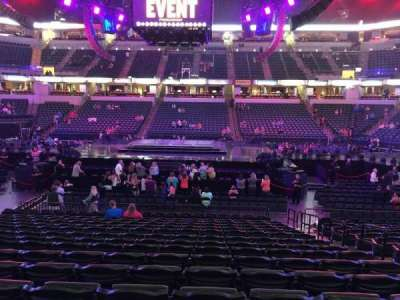 Bankers Life Fieldhouse, section: 16, row: 21, seat: 5