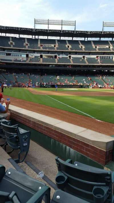 Globe Life Park in Arlington section 39