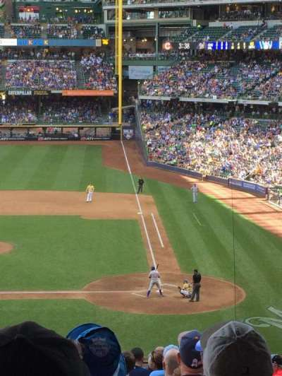 Miller Park, section: 222, row: 18, seat: 12