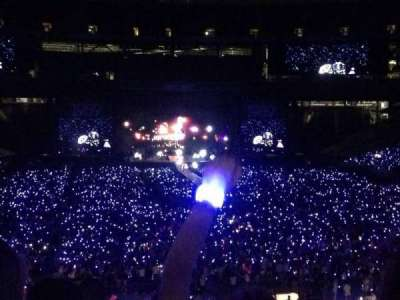 MetLife Stadium, section: 128, row: 45, seat: 16
