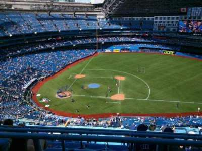 Rogers Centre, section: 518, row: 21, seat: 108