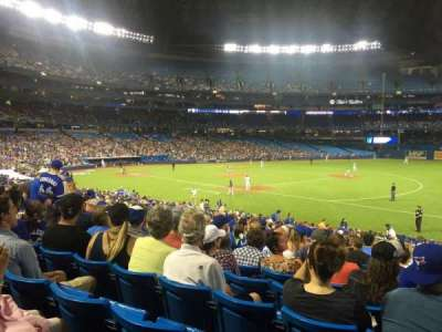Rogers Centre, section: 114L, row: 30, seat: 110