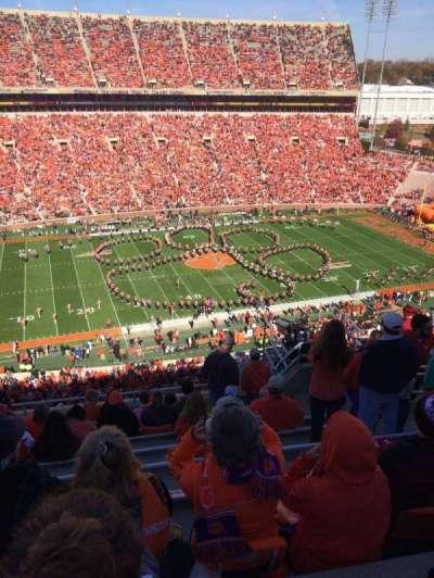 Memorial Stadium, Clemson, section: TDG, row: H