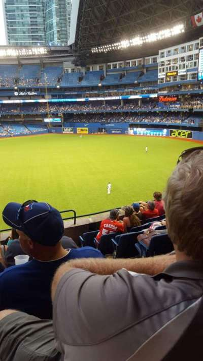 Rogers Centre, section: 210L, row: 8, seat: 101