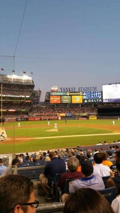 Yankee Stadium, section: 117B, row: 17, seat: 14