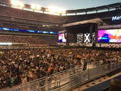 MetLife Stadium, section: 115C, row: 2, seat: 11