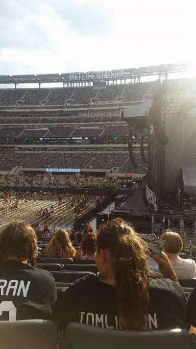 MetLife Stadium, section: 110, row: 30, seat: 4