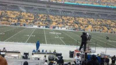 Heinz Field, section: 134, row: M, seat: 11