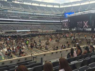 MetLife Stadium section 115A