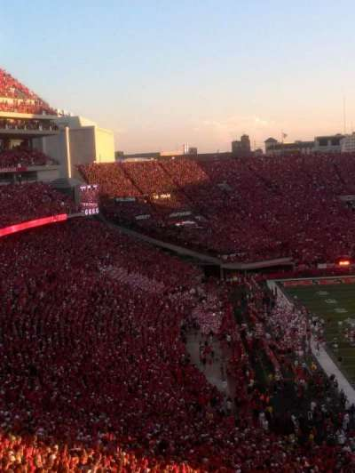 Memorial Stadium, section: 38, row: 96 , seat: 12