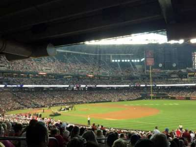 Chase Field, section: 112, row: 39, seat: 14