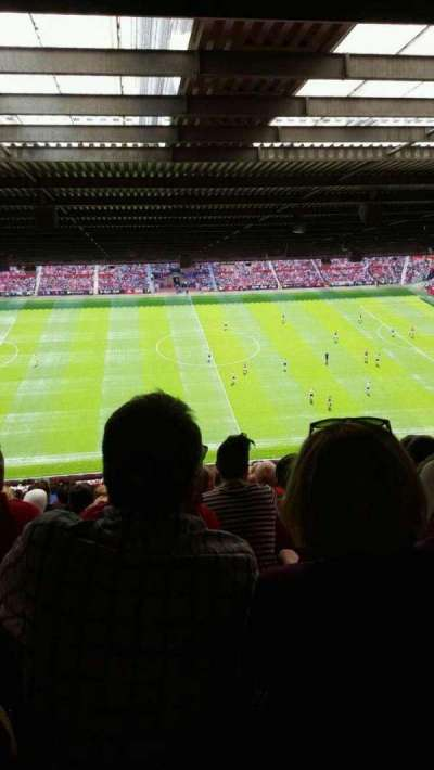 Old Trafford, section: N4404, row: 16, seat: 150