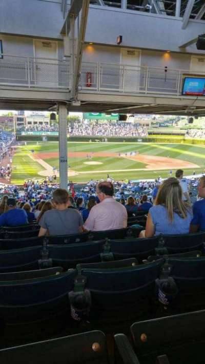 Wrigley Field section 224